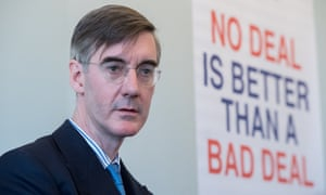 Have people inspected at Irish border after Brexit, says Rees-Mogg