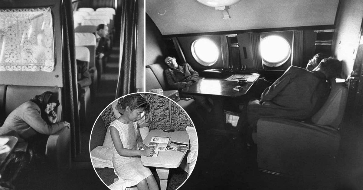 Фото Полет с комфортом: как выглядел первый класс в советских самолетах