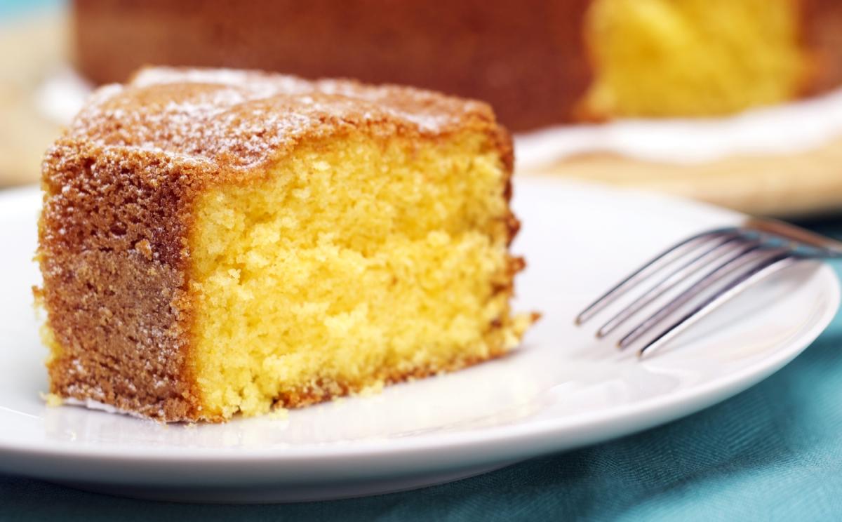 Нежнейший лимонно-ванильный кекс