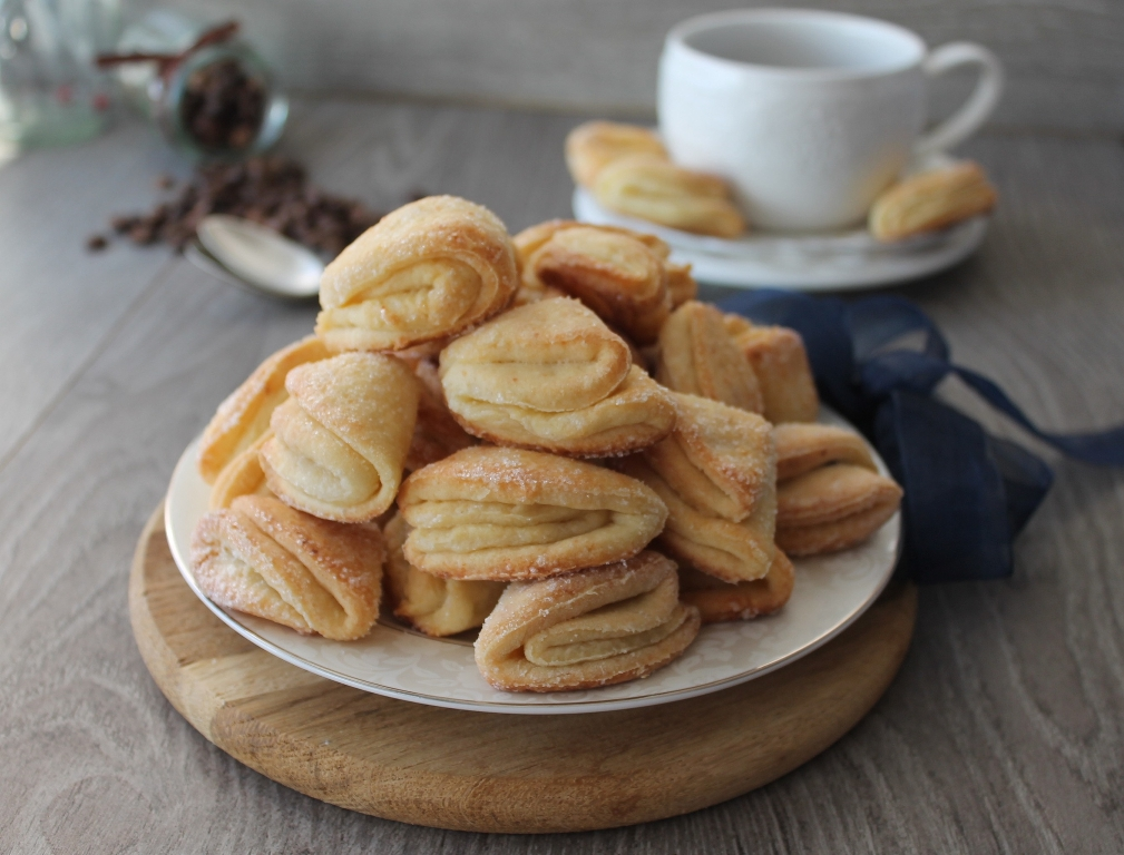 Домашнее творожное печенье к чаю