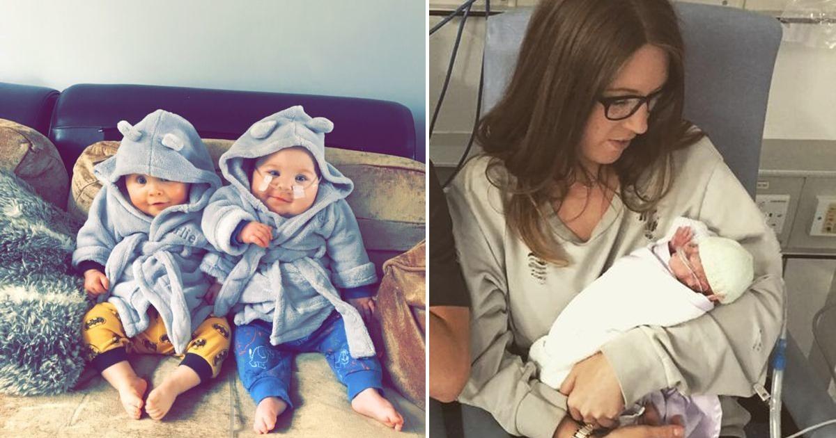 Фото В них не верили врачи: как близняшки, родившиеся на 24 неделе, победили смерть