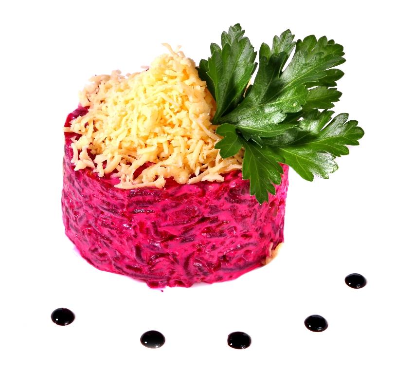 Аппетитный салат из свеклы с сыром