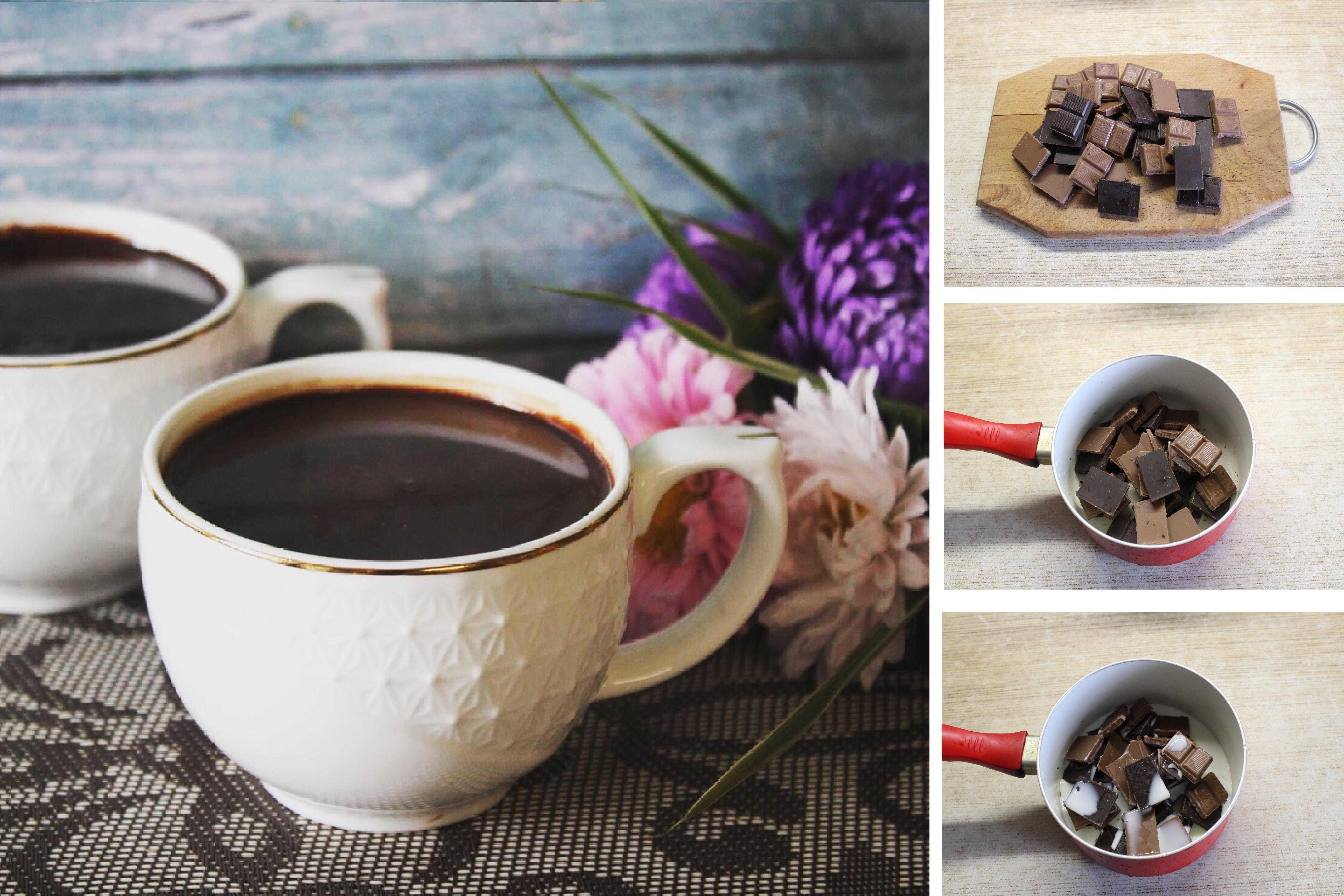 Горячий шоколад с перцем чили и корицей: пошаговый фото рецепт