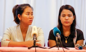 Jailed reporters' wives 'devastated' by Aung San Suu Kyi response
