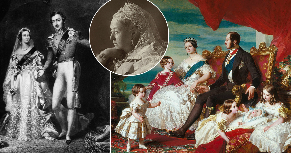 Вечный траур: история любви королевы Виктории и принца Альберта