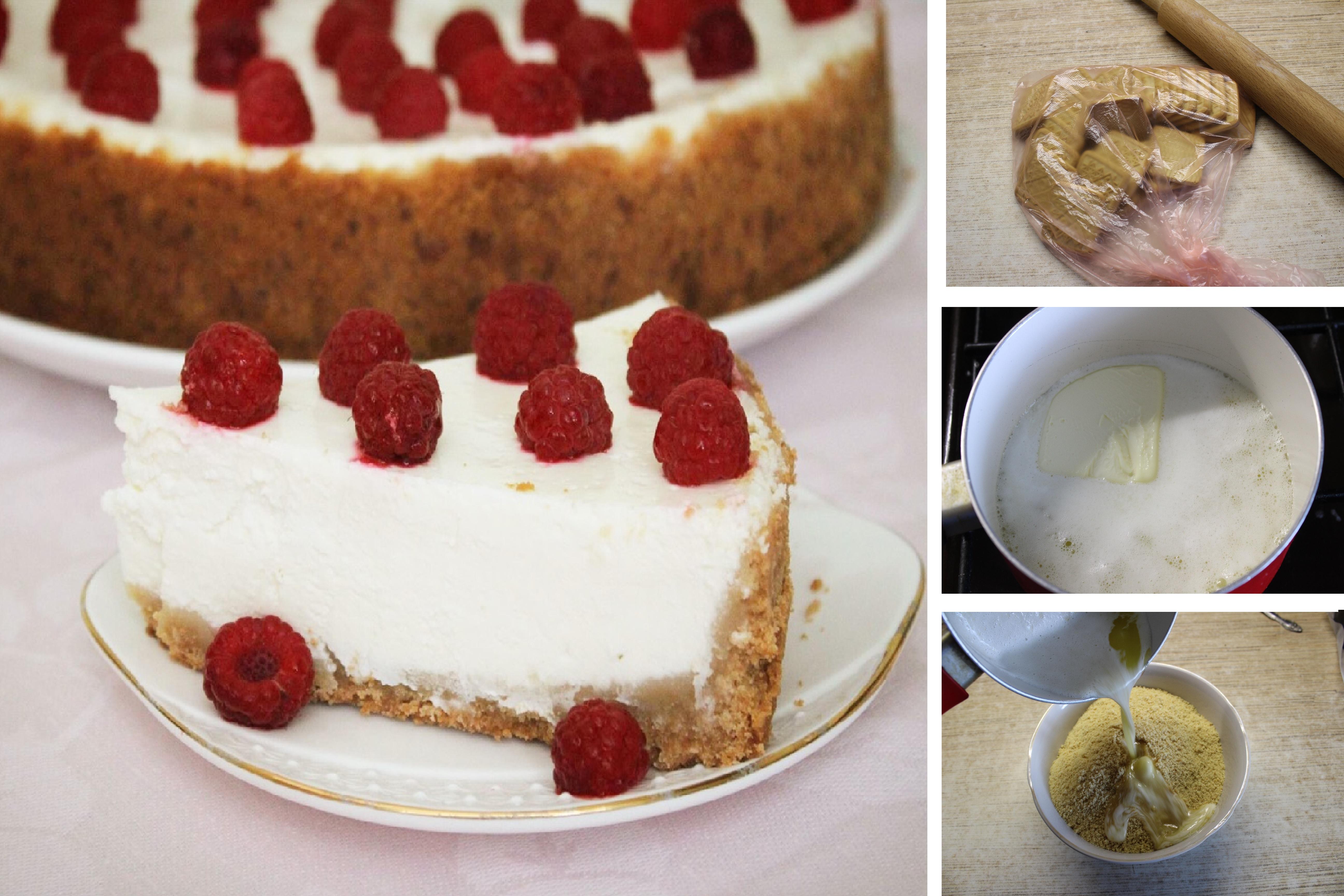 Творожный чизкейк с ягодами: пошаговый фото рецепт
