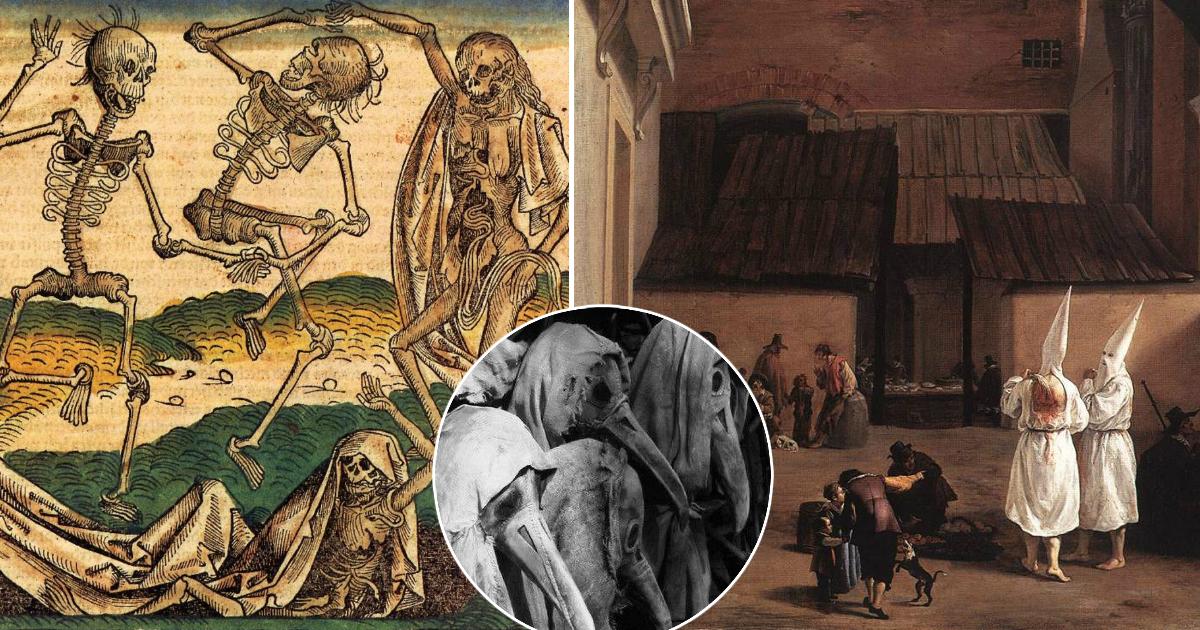 Фото Страсть на костях: каким был секс во время чумы в Лондоне