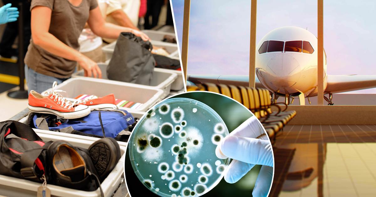 Не трогайте руками: названо самое опасное для здоровья место в аэропортах