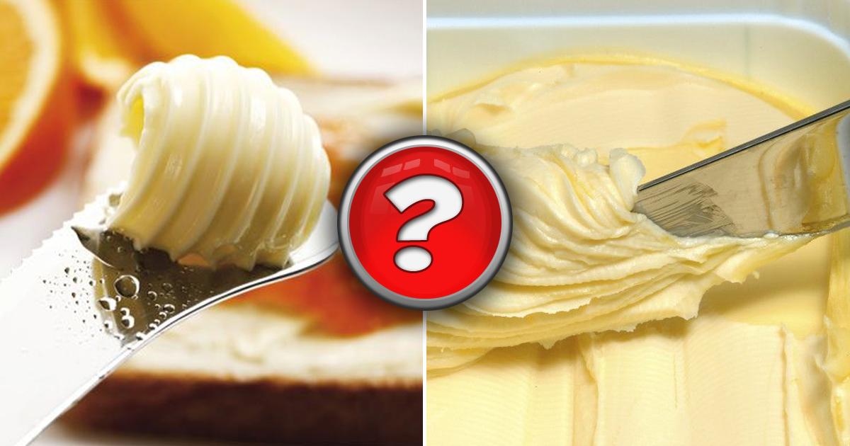 Фото Масло, спред и маргарин: в чем же отличие и польза?