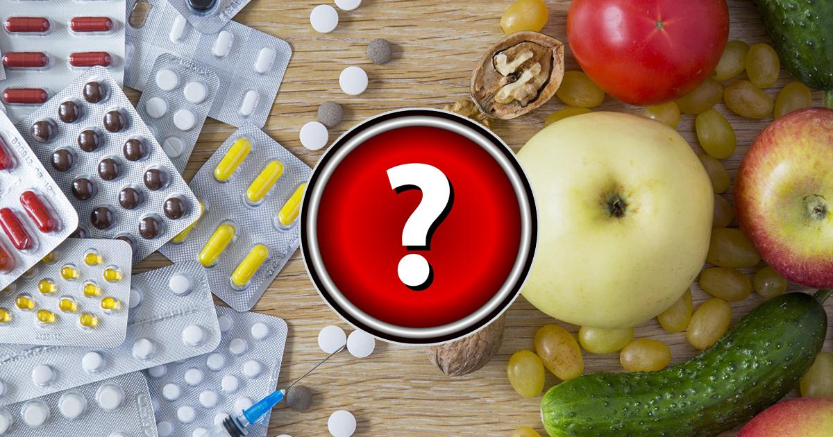 Фото Продукты, которые делают лекарства бесполезными