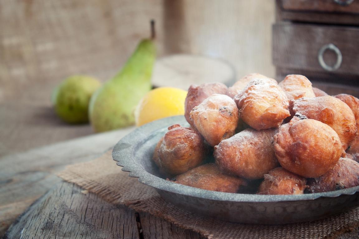 Быстрые творожные пончики