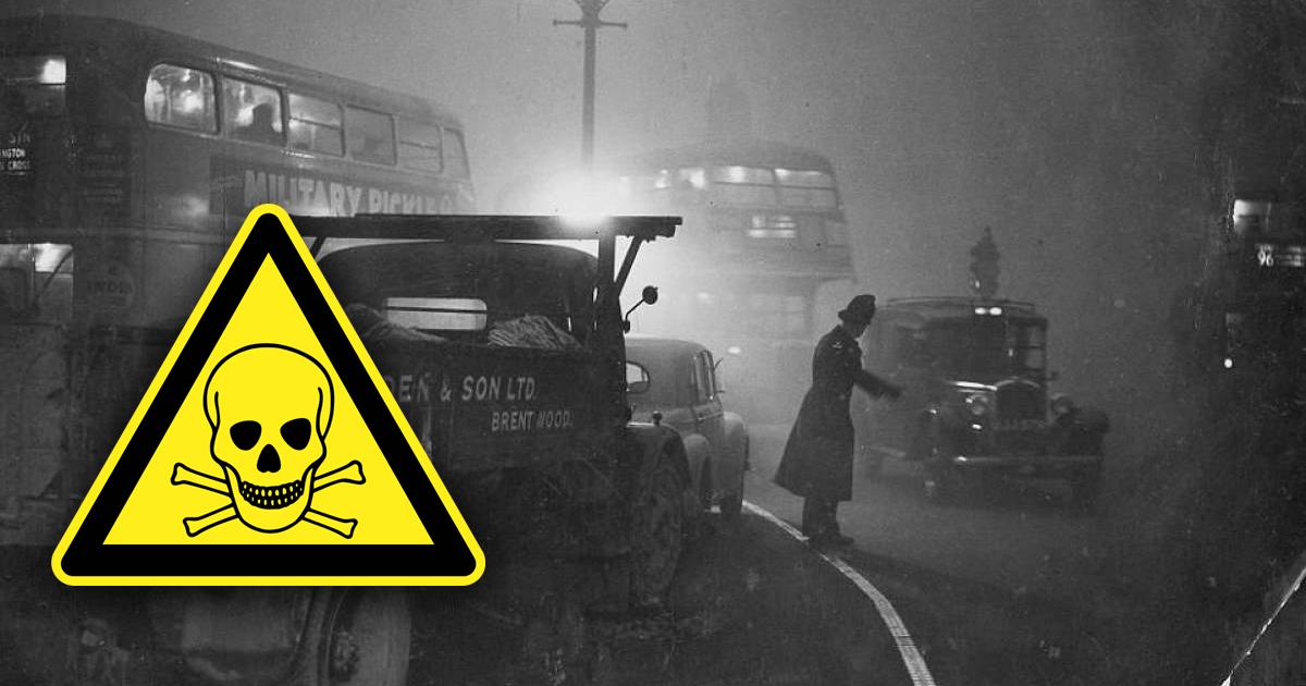 Великий смог: как лондонский дым сгубил жизни 12 тысяч человек?