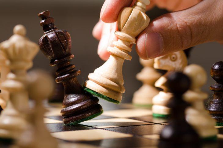 Фото Шахматный поединок вместо экзамена