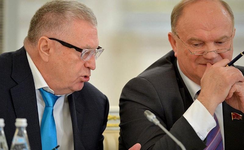 Фото Нужны ли выборы весной: версия Зюганова и Жириновского