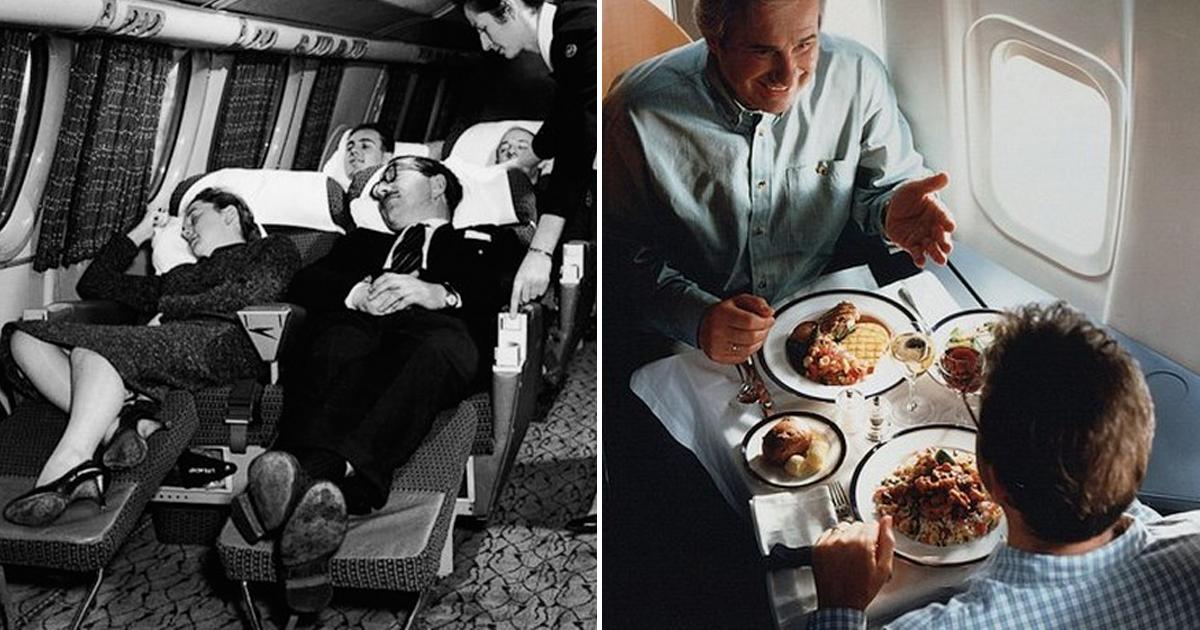 От роскоши до минимализма: как менялся интерьер самолетов за 100 лет?