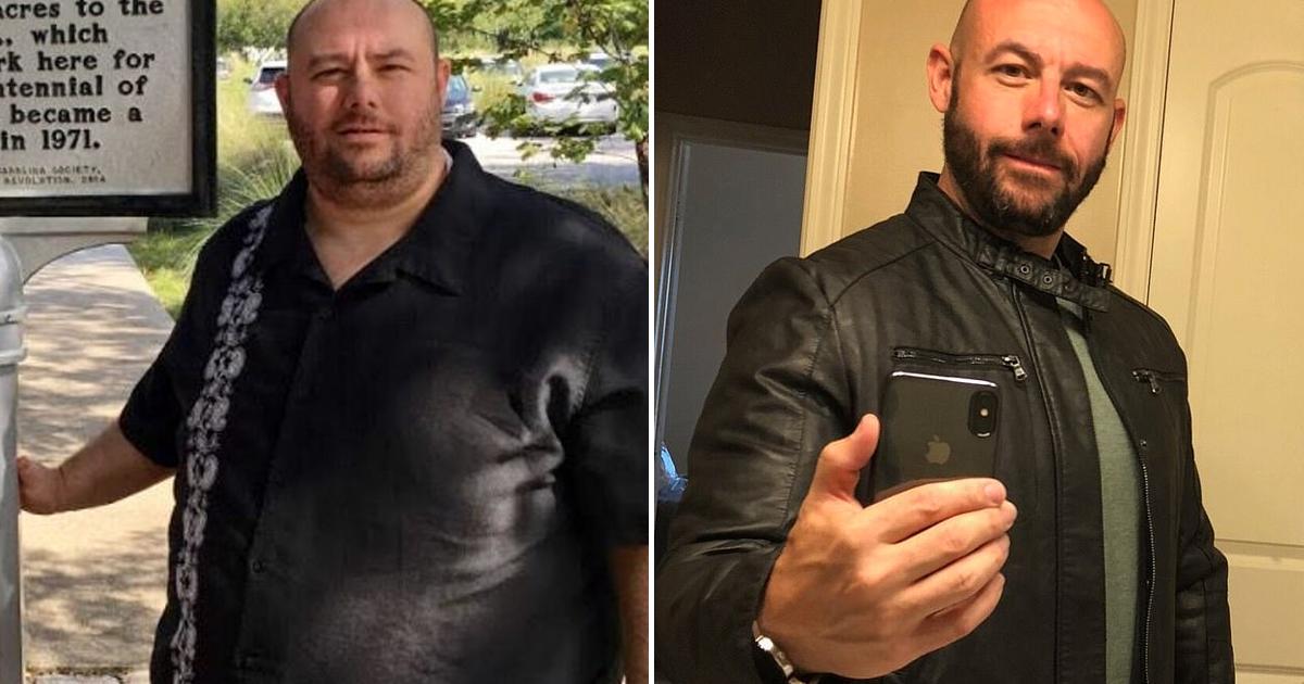 200-килограммовый мужчина впал в депрессию и резко похудел