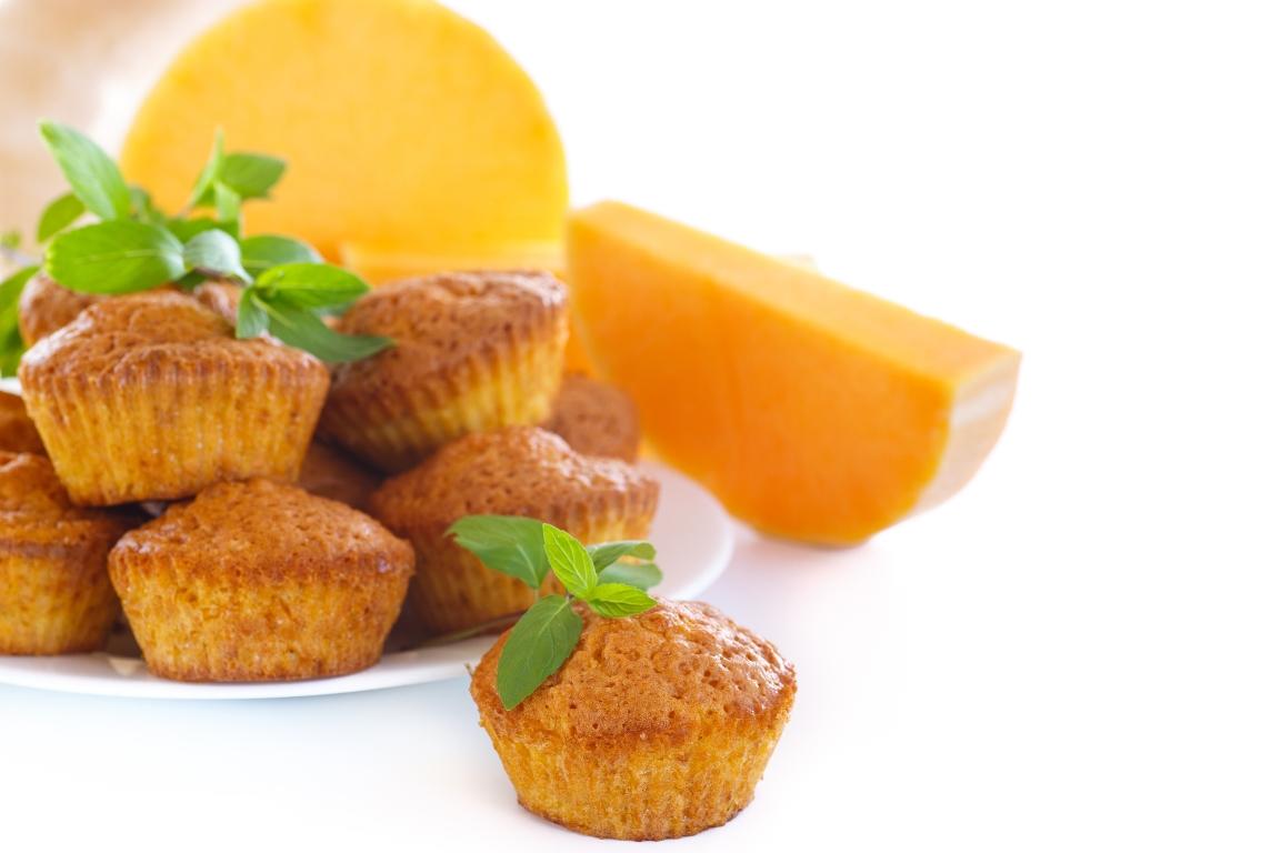 Вкуснейшие тыквенные кексы с апельсином и лимоном