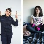 Девушки ВМФ Нидерландов в форме и без