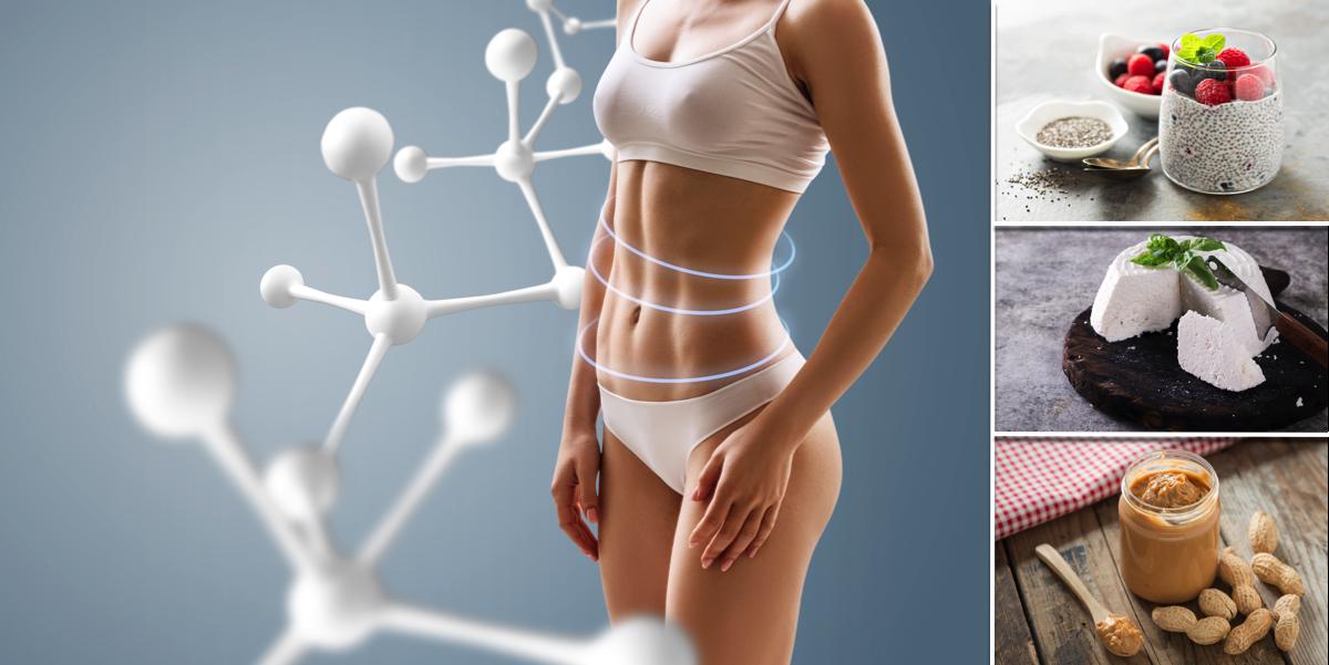 11 необходимых продуктов для эффективного сжигания жира и формирования красивых мышц