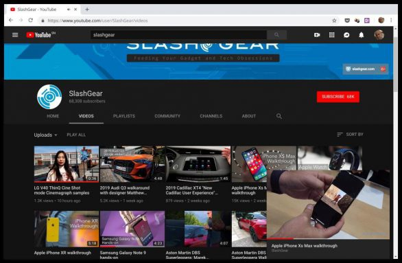 Photo of YouTube Miniplayer now on the Web