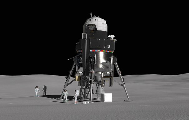 Photo of This reusable Moon lander is Lockheed Martin's vision for space colonies