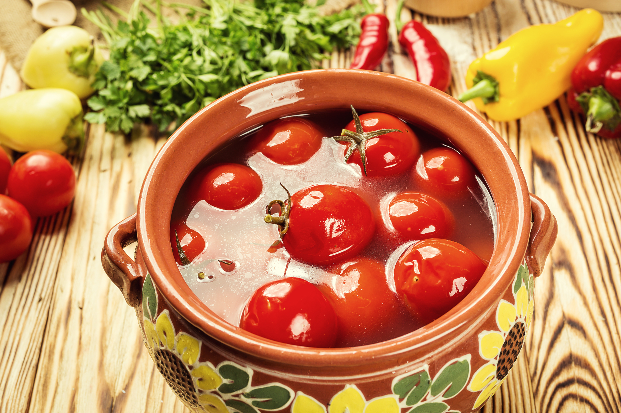Бочковые помидоры по-домашнему
