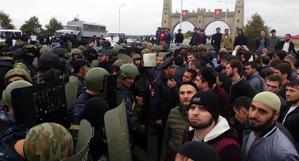 В чем проблема границы Чечни и Ингушетии?
