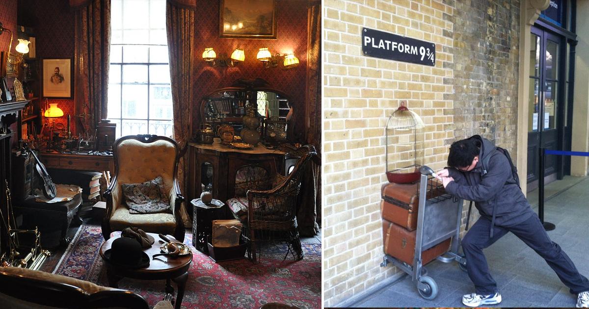 Фото Где они, самые известные литературные места в Лондоне?