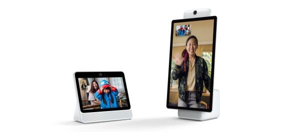 Photo of Facebook debuts Portal and Portal+ with AI-enhanced Messenger video calls and Amazon's Alexa