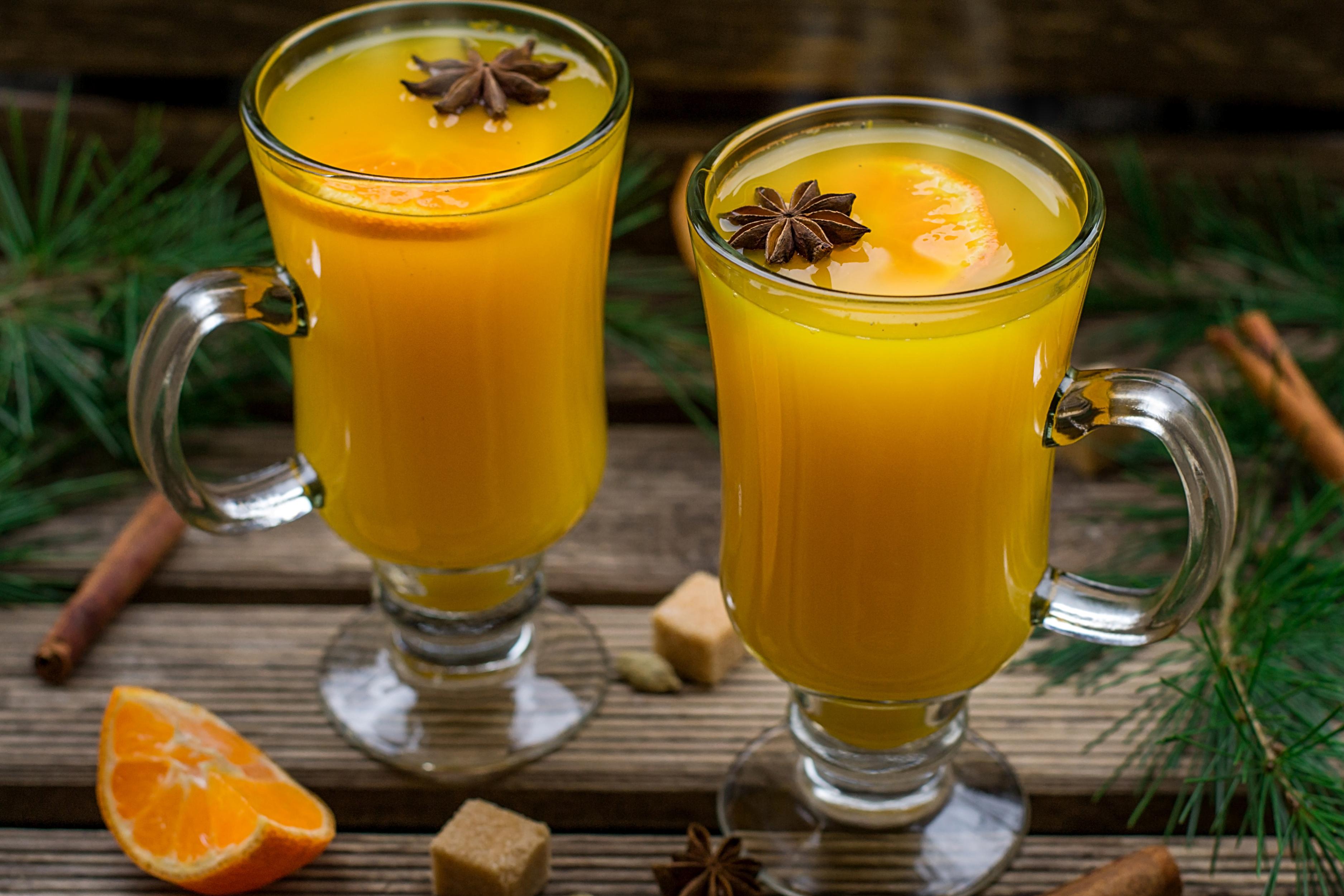 """Напиток """"Горячий апельсин"""""""
