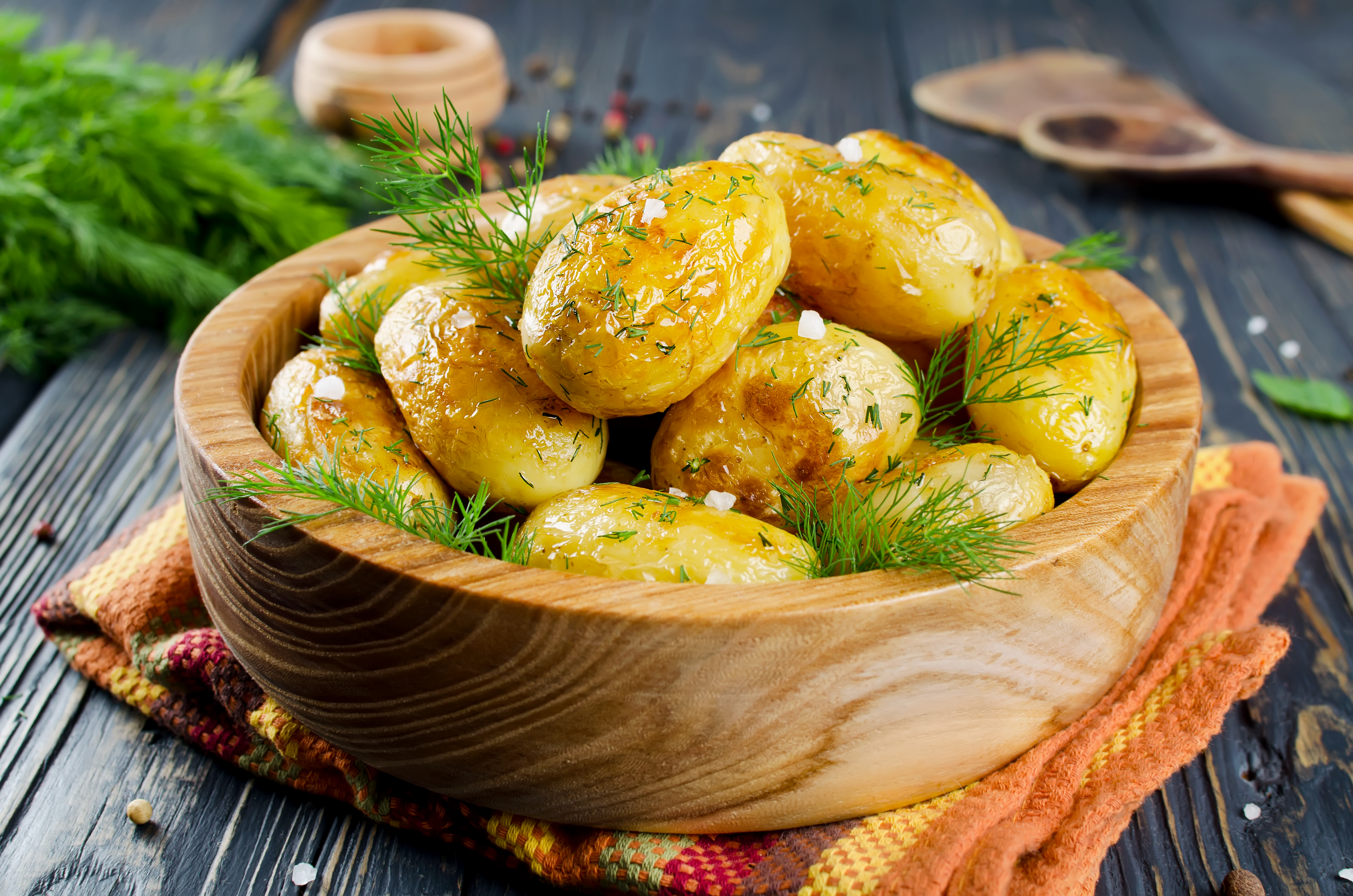 Картофель в рукаве к праздничному столу