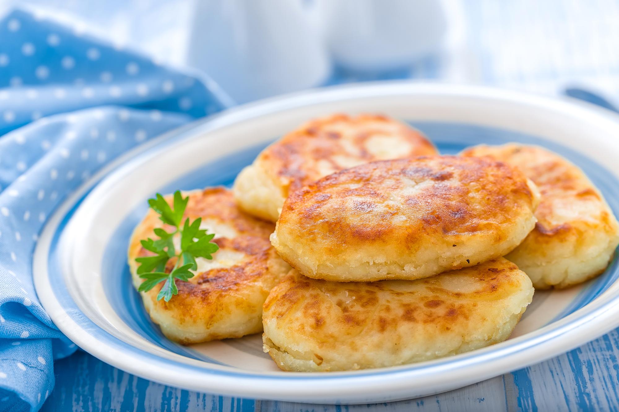 Картофельные зразы с печеночной начинкой