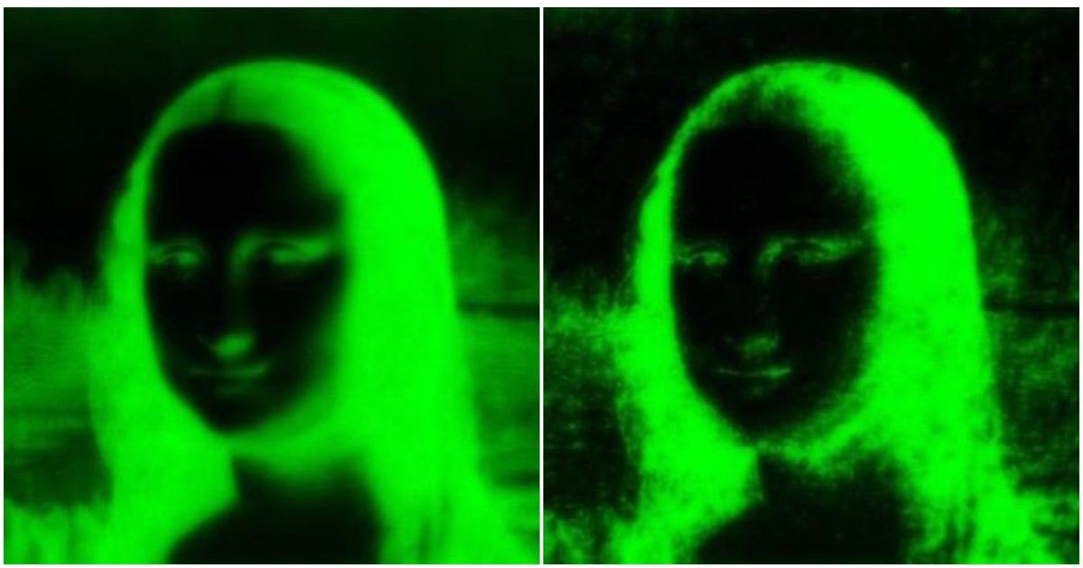 Ученые нарисовали Мону Лизу с помощью кишечных бактерий