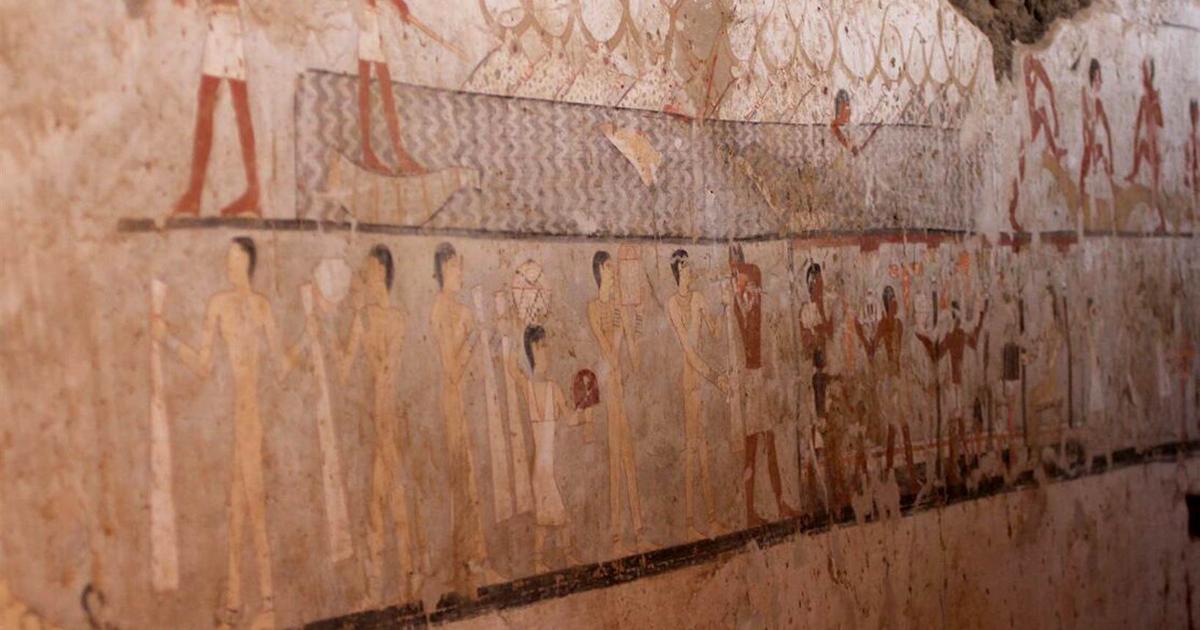 Обнаружили гробницу, возраст которой превышает 4000 лет