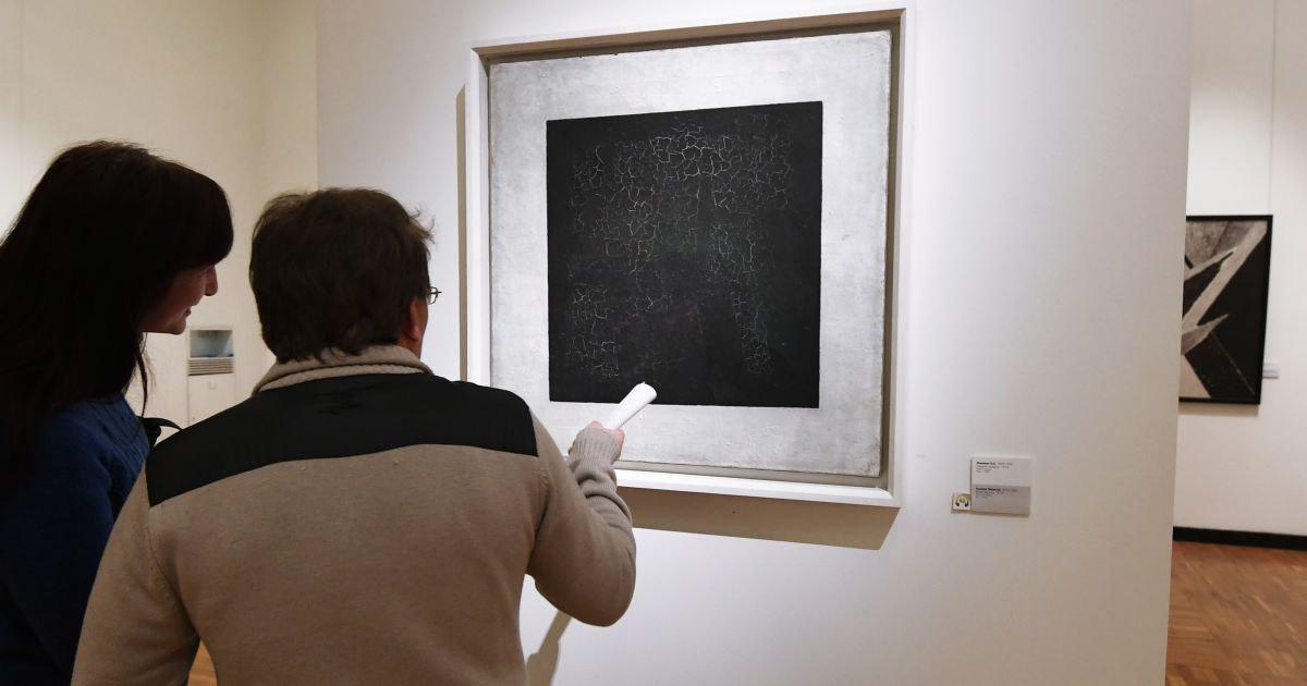 """Фото В чем смысл """"Черного квадрата""""? Почему это искусство?"""