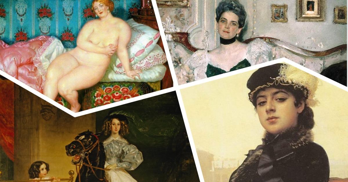 Фото Женщины глазами великих русских художников. Что стало с героинями картин?