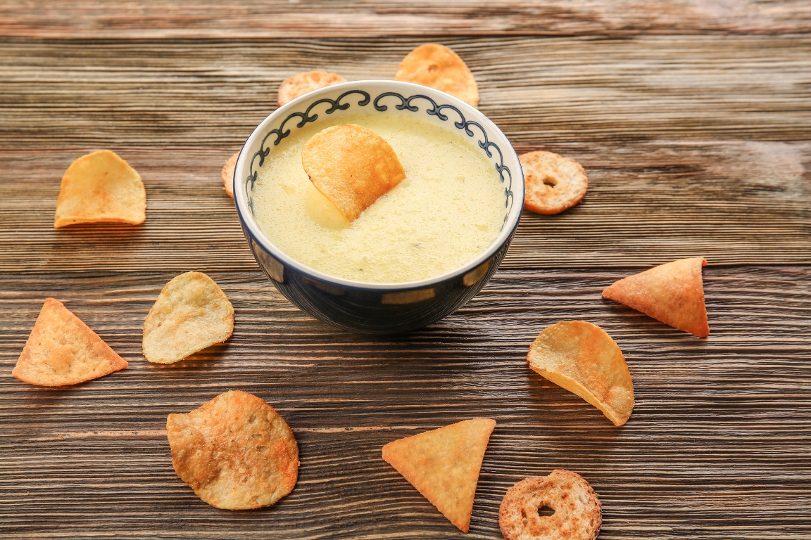 Домашний сырный соус