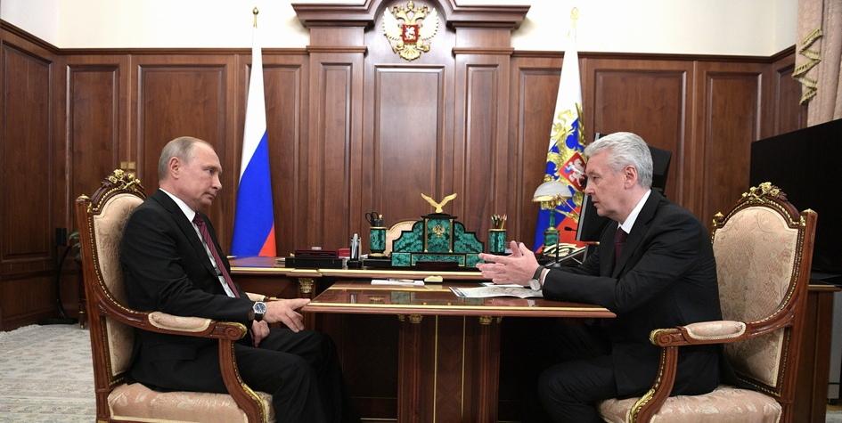 Фото Собянин рассказал Путину о ходе программы реновации