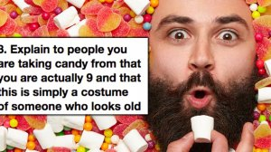 """Tips On How to Get Away With Trick Or Treating When Youre """"Too Old For It"""""""