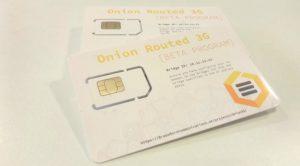 Indie ISP Offering Tor-Enabled SIM Cards