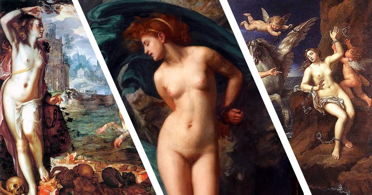 Фото Кем была Андромеда и почему художники изображают ее голой?