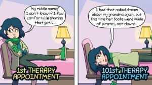 Your 1st Therapy Appointment vs. Your 101st Therapy Appointment