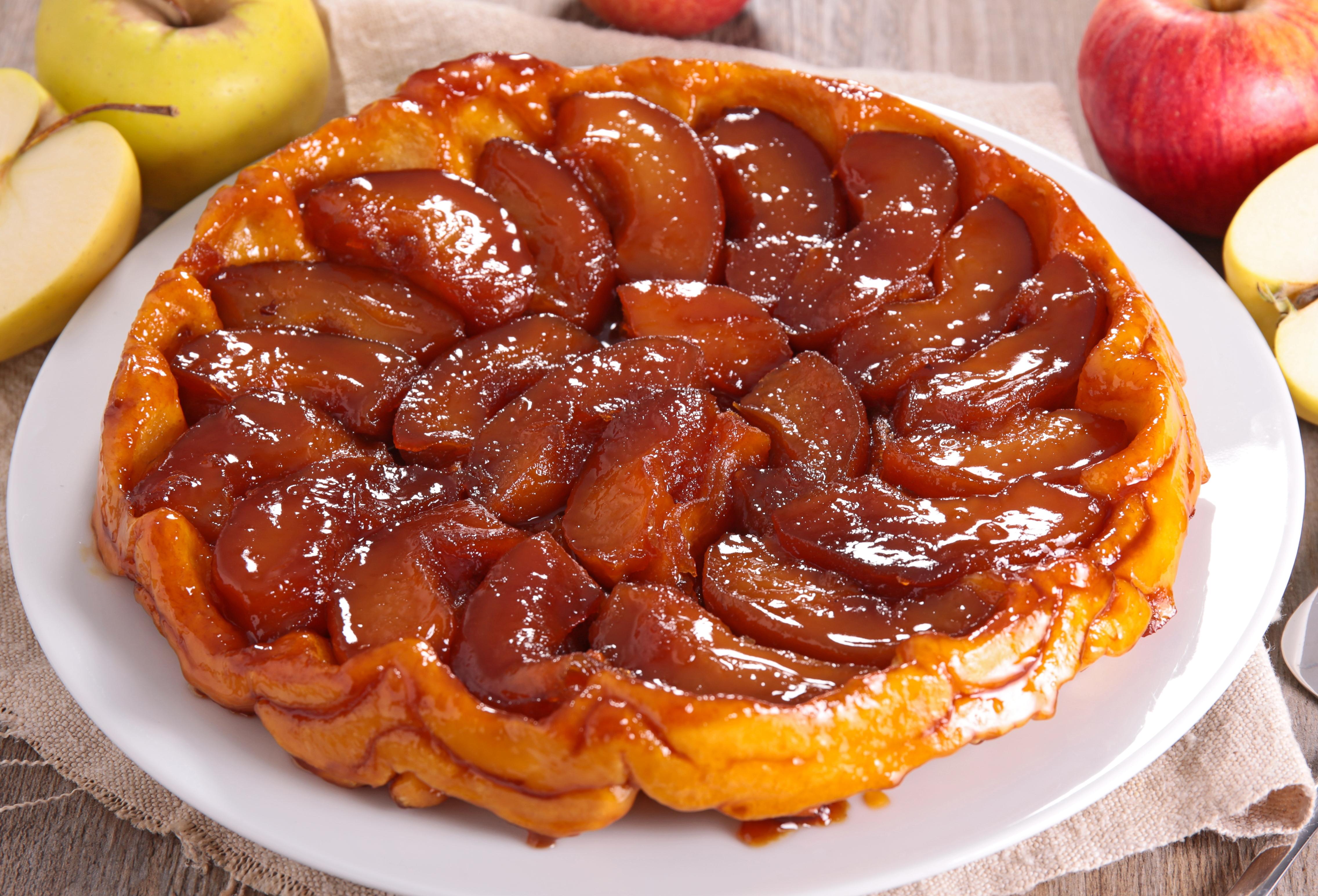 Классический яблочный тарт-татен