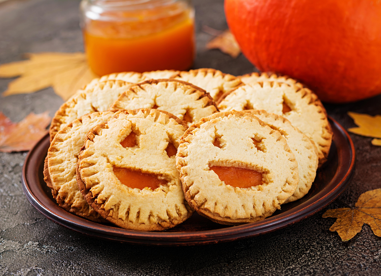Печенье на Хэллоуин «Фонарь Джека»