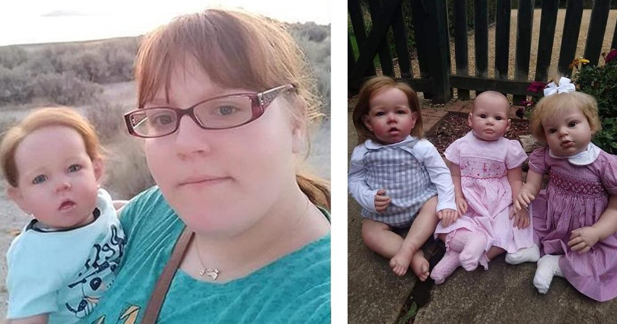 Британка нянчит кукол-младенцев, чтобы пережить потерю нерожденной сестры