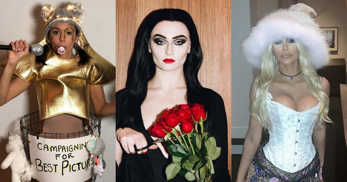 Фото Сексуально, смешно и страшно. Костюмы звезд на Хэллоуине-2018 (32 ФОТО)