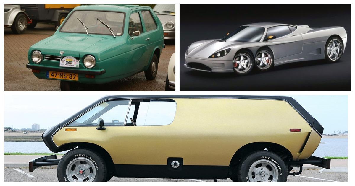 «Коробка на колесах». 10 самых уродливых автомобилей в истории