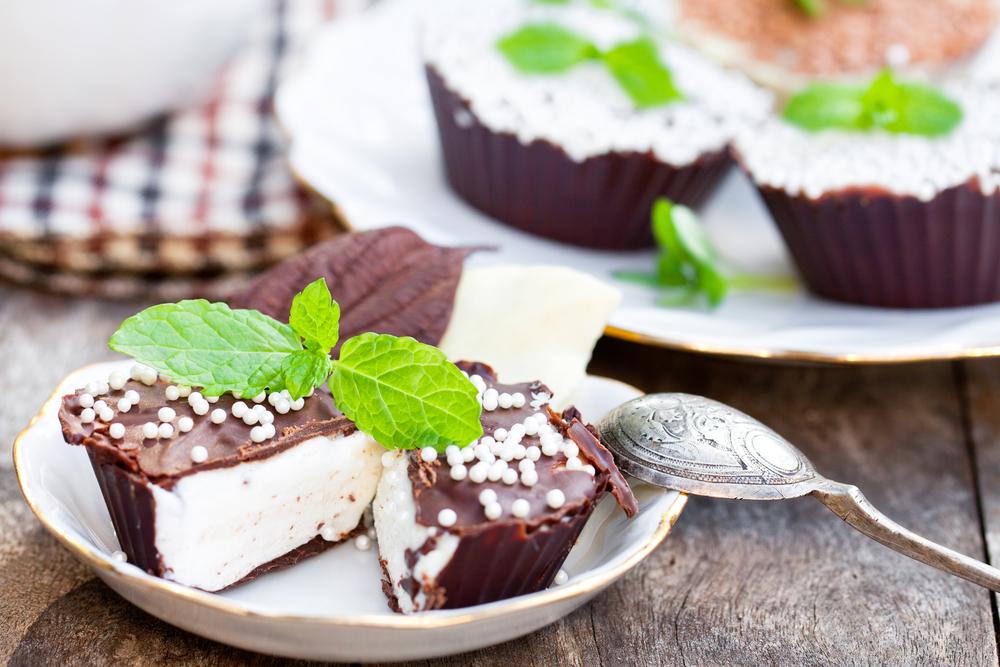 Домашние сырки в шоколадной глазури