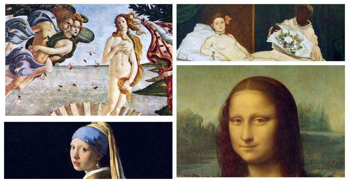 Пластический хирург измерил красоту женщин с портретов художников