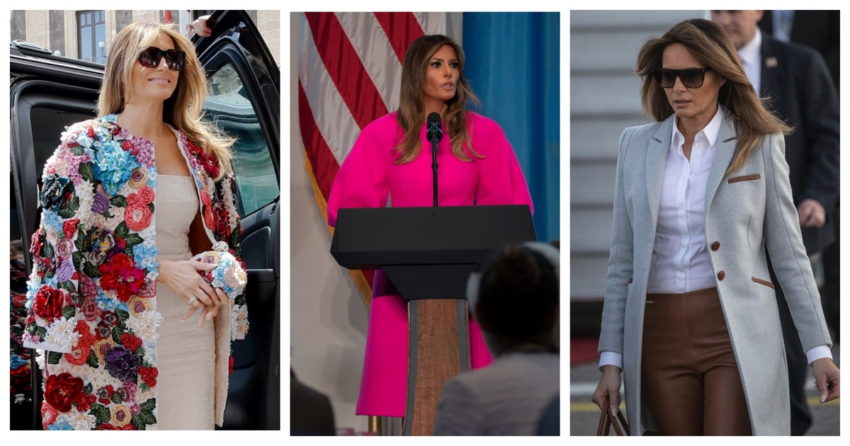 Фото Чтобы костюмчик сидел. Самые дорогие наряды Мелании Трамп